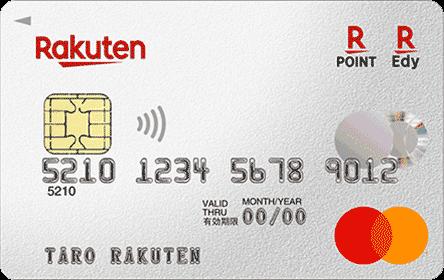 楽天カードの券面画像